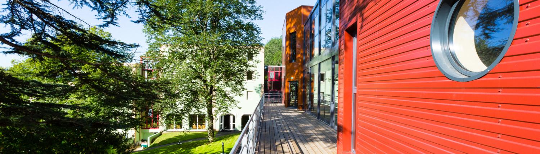 campus de l'Ecole de Savignac