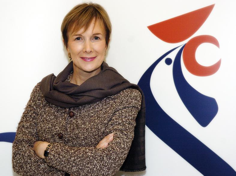 Dominique Loiseau, marraine de promotion