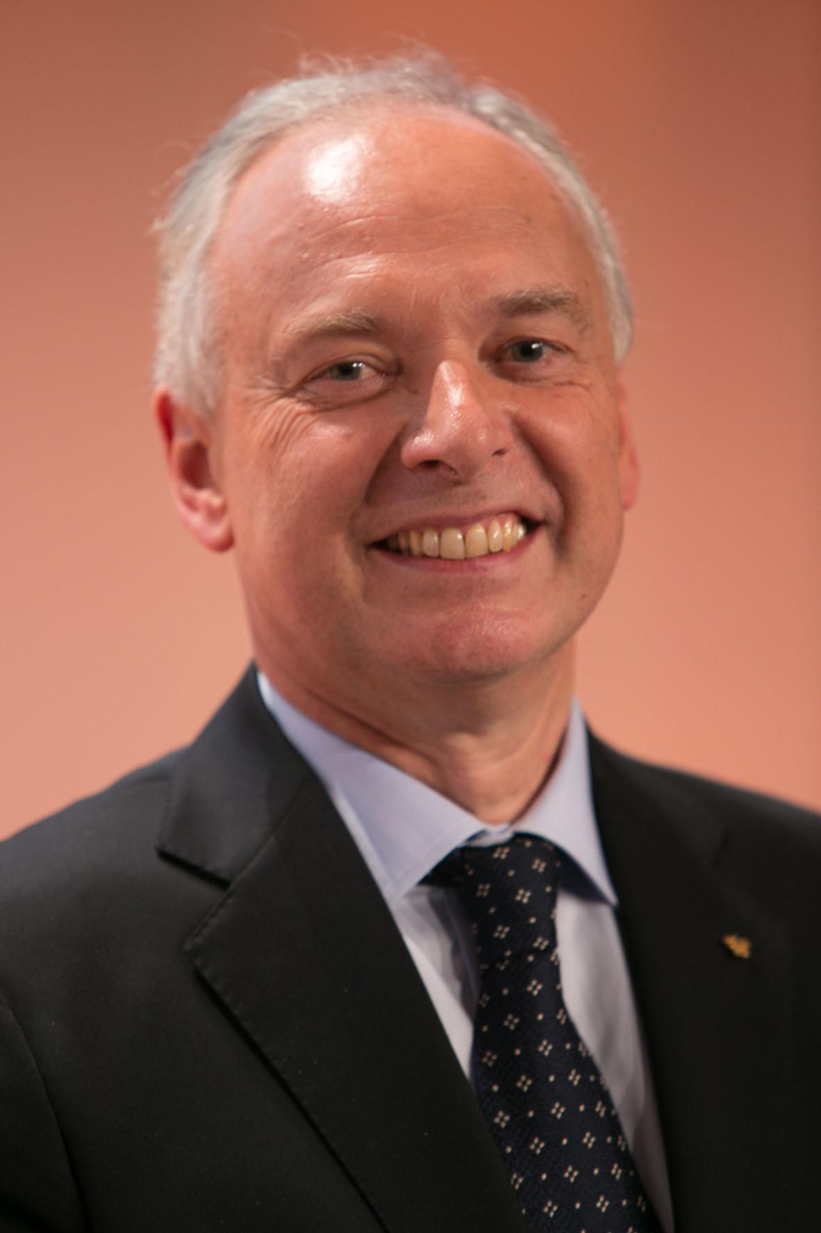 Philippe Gombert, parrain de promotion à Savignac