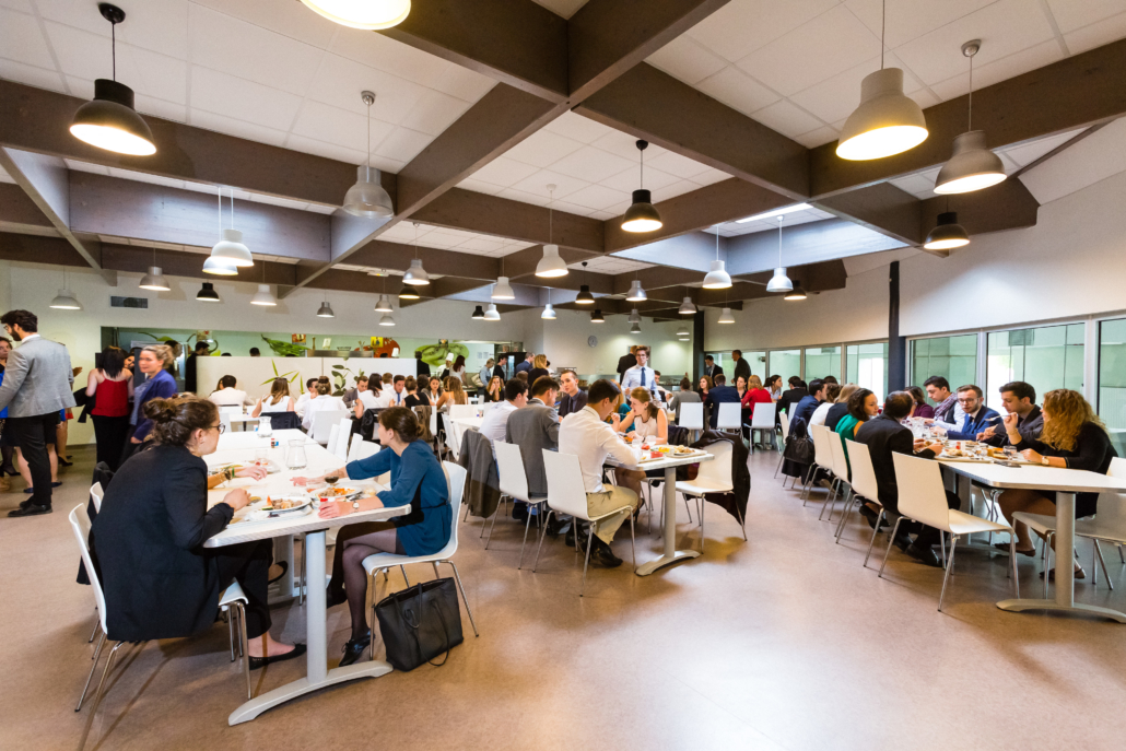 campus de l'Ecole de Savignac - cafétéria