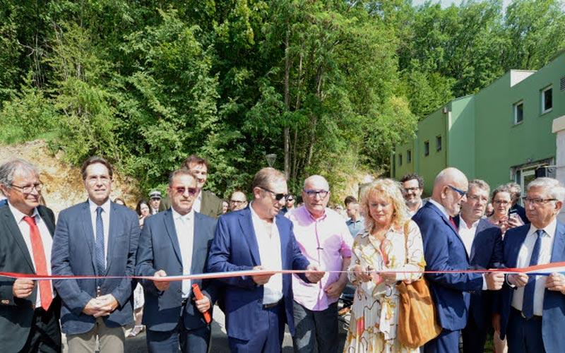 inauguration de l'agrandissement du campus de Savignac