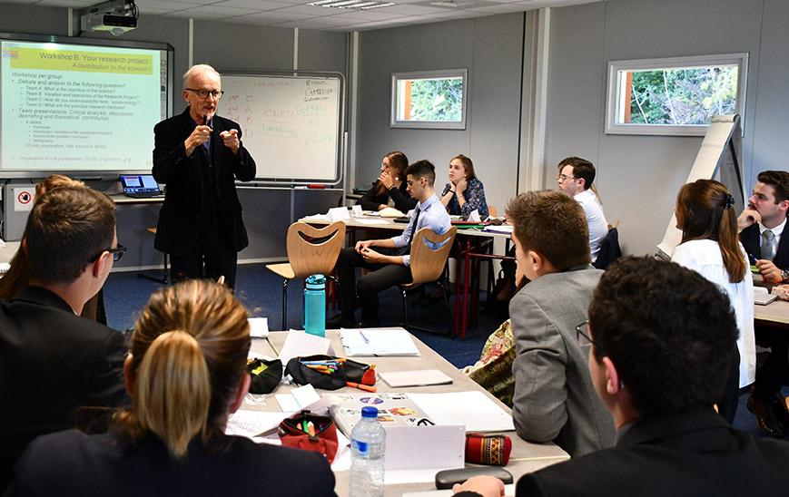 cours de stratégie en Bachelor à l'Ecole de Savignac