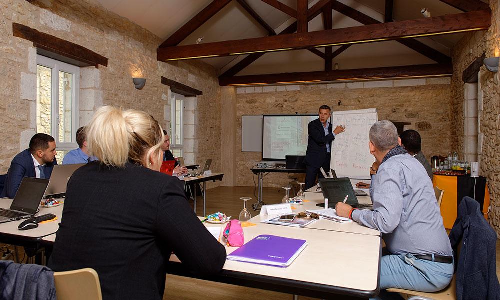cours en formation continue interentreprise à l'Ecole de Savignac