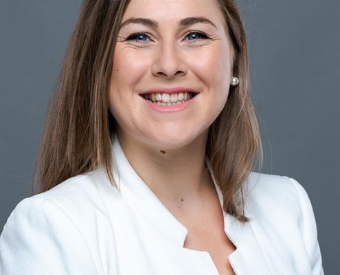 Lucie Perrin, diplômée de l'Ecole de Savignac