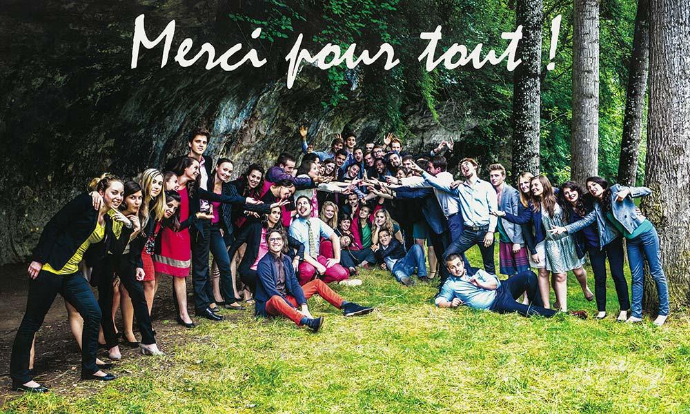 vie étudiante à Savignac - photo de promo