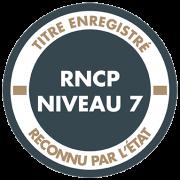 Pictogramme RNCP niveau 7