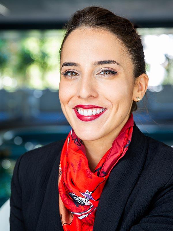 Inès Chardonnet, alumni Savignac, Blue Elephant